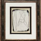 """10. Marino Marini """"Cavallo"""", 1960, Tempera auf Papier auf Leinwand aufgezogen, 42 x 32 cm,  rechts unten signiert Bild: Galerie Française Gérard Schneider/© Bildrecht Wien, 2020"""