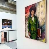 """Ausstellungsansicht """"1 Millionen Rosen für Angela Davis"""" © Staatliche Kunstsammlungen Dresden, Foto: Laura Fiorio"""