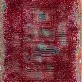 """Robert Pan """"HX 8,505 KH"""", 2019, Harz, Mischtechnik, 150,5 x 120,5 cm Foto: Galerie Alessandro Casciaro / © Bildrecht Wien, 2020"""