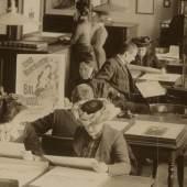 Hans Franke & Co, Studiensaal des Kupferstich-Kabinetts im Semperbau am Zwinger, 1908
