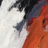 """Alfons Schilling, """"Ohne Titel"""", 1960-61, Mischtechnik auf Leinwand, 145 x 128 cm, THP Stiftung, Foto: Universalmuseum Joanneum/N. Lackner"""