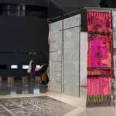 """Ausstellungsansicht """"KUNST ⇆ HANDWERK"""", 2019, Werke von Azra Akšamija, Foto: Universalmuseum Joanneum/N. Lackner"""