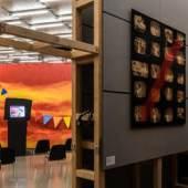 "Ausstellungsansicht, ""Wo Kunst geschehen kann"", Kunsthaus Graz, 2020, Foto: Kunsthaus Graz/M. Grabner"