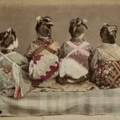 Felice Beato Tänzerinnen, um 1890, Museum Ludwig, Köln, Foto: Rheinisches Bildarchiv Köln