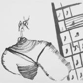Joseph Beuys - Spur 1 Blatt 117 Aus dem Leben, 1974, Lithografie