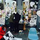 Im Vorjahr folgten rund 3700 Besucherinnen und Besucher unserem Aufruf, sich am Big Draw zu beteiligen; Foto: Kunsthaus Graz