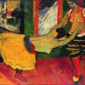 Tanz, 1909  Brücke-Museum Berlin, Dauerleihgabe aus Privatbesitz © 2016 Pechstein Hamburg / Tökendorf