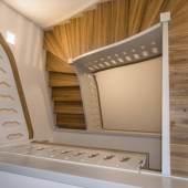 Treppenhaus des Humboldthauses in Bad Steben © Deutsche Stiftung Denkmalschutz/Schabe