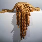 Françoise Grossen Escargot; Skulptur, Sisal, geflochten, 1974; Museum für Gestaltung Zürich, Kunstgewerbesammlung; Museum für Gestaltung Zürich; Foto: Museum für Gestaltung Zürich, Marlen Perez © ZHdK