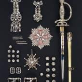Die Diamantrosengarnitur im Juweleninventar von 1719