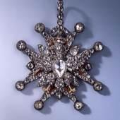 Kleinod des Polnischen Weißen Adler-Ordens aus der Diamantrosengarnitur Christian August und August Gotthelf Globig Dresden 1782-1789 Inv.-Nr. VIII 18