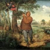 Der Vogeldieb (2.4 MB) Pieter Bruegel d. Ä. (um 1525/30 ‒ 1569) 1568, Eichenholz, 59,3 × 68,3 cm Kunsthistorisches Museum Wien, Gemäldegalerie © KHM-Museumsverband