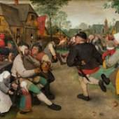 Bauerntanz (1.5 MB) Pieter Bruegel d. Ä. (um 1525/30 ‒ 1569) Um 1568, Eichenholz, 113,5 × 164 cm Kunsthistorisches Museum Wien, Gemäldegalerie © KHM-Museumsverband