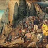 Die Bekehrung Pauli (1.8 MB) Pieter Bruegel d. Ä. (um 1525/30 ‒ 1569) 1567, Eichenholz, 108 × 156 cm Kunsthistorisches Museum Wien, Gemäldegalerie © KHM-Museumsverband