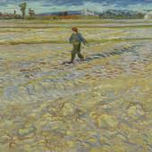 Vincent van Gogh: Der Sämann, 1888, Öl auf Leinwand, 72 x 91,5 cm, Hahnloser/ Jaeggli Stiftung, Winterthur, Schenkung Elisabeth Lasserre-Jäggli, 1983, Foto: Reto Pedrini, Zürich