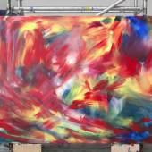 Herbert Brandl  Sommerschnee Ohne Titel 2016 Öl auf Leinwand 170 x 218 cm Bra/M 160015