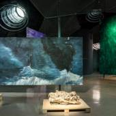 "Ansicht, Herbert Brandl ""MORGEN"", 2020, Kunsthaus Graz, Foto: Kunsthaus Graz/M. Grabner"