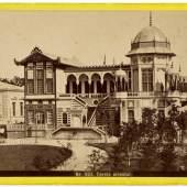Der Cercle Oriental auf der Wiener Weltausstellung 1873, Foto: György Klösz, Wiener Photographen-Association, Wien Museum