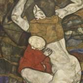 """Schieles Bild """"Junge Mutter"""""""