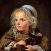 Jean-Baptiste Greuze (1725-1805): Die Kapuzinerpuppe, um 1765, National Gallery of Ireland, Dublin, Photo © National Gallery of Ireland