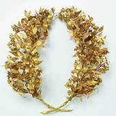 01 | KTB K1 Totenkranz Gold Griechisch 4. Jh. v. Chr. Schmuckmuseum Pforzheim Foto Rüdiger Flöter