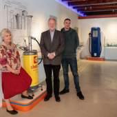 Kuratorisches Team, v. l. n. r.: Eva Kreissl, Helmut Eberhart und Johannes Maier, Foto: Universalmuseum Joanneum/N. Lackner