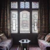 """""""Arabisches Zimmer"""" von Johann Kainz-Bindl, Wien, 1901. Aufnahme am Währinger Gürtel 166. Foto: Wolfgang Thaler, 2015"""