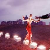 √Der Tanz der Maschinen-Maria (Brigitte Helm), Metropolis (Fritz Lang, 1927), Quelle: Deutsche Kinemathek – Fotoarchiv, Foto: Horst von Harbou © Deutsche Kinemathek – Horst von Harbou