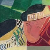 Oskar Moll, Liegende, Detail, um 1931, Öl auf Leinwand, 46 x 135 cm, Privatsammlung © Foto: Serge Hasenböhler