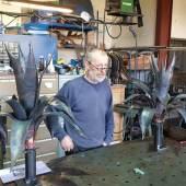 Metallagaven für Schloss Bothmer in der Werkstatt von Birger Radsack, Foto © Steffen Siefert, Staatliche Schlösser, Gärten und Kunstsammlungen Mecklenburg-Vorpommern