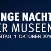 Plakat: Lange Nacht der Museen