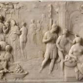 Giambologna, Allegorie auf Francesco de' Medici, um 1560/61 Alabaster, 31 x 45,8 x 5 cm, Museo Nacional del Prado, Madrid