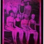 Gerhard Richter, Schwimmerinnen, 1965, Öl auf Leinwand, 200 x 160 cm, Sammlung Froehlich, Stuttgart, © Gerhard Richter 2018