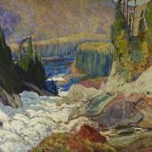 J.E.H. MacDonald. Falls, Montreal River, 1920, Photo © Art Gallery of Ontario 2109