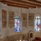 Die kostbaren Wandmalereien in der Kirche St. Andreas und Stephani in Wansleben © Roland Rossner/Deutsche Stiftung Denkmalschutz
