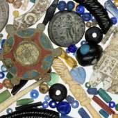 Überblick über das römische Fundmaterial vom Ostgipfel des Schöckls, Foto: Universalmuseum Joanneum/D. Modl