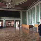 Inneres des Kulturpalasts in Unterwellenborn © Deutsche Stiftung Denkmalschutz/Siebert