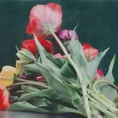 Maurice Ducret, Iris mit Tulpen