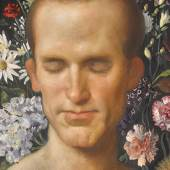 John Currin, The Florist, 2003. Estimate $400,000–600,000.