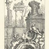 "François de Cuvilliés Blatt aus der Folge ""Livre Nouveau de Morceaux de fantaisie"", Kupferstich, um 1740, MAK - Österreichisches Museum für angewandte Kunst / Gegenwartskunst, Wien, Foto: © MAK, Wien"