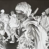 1 & 2. Marc Brandenburg, Untitled, 2019/20. Pencil on paper. Each part: 21.8 x 29.5 cm (8.58 x 11.61 in). © Marc Brandenburg 2020.