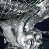 Ignaz Joseph Würth (1742–1792) Runde Terrine mit Untersatz (Detail aus einem der vier Füße), 1779–81  Silber; 42 x 67 cm Privatsammlung, Paris  © LIECHTENSTEIN MUSEUM. Die Fürstlichen Sammlungen, Wien