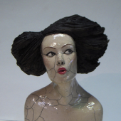 Melanie Bourget | Woman | Ceramic | Art Platinum