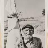 Robert Capa, Redner. Palermo, Sizilien, Juli 1943, Silbergelatinepapier, SKD, Kupferstich-Kabinett, Copyright Robert Capa / International Center of Photography, Magnum Photos
