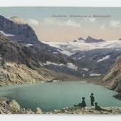 Dachstein, Gletschersee und Karleisfeld, © Sammlung Kubinzky