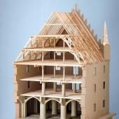Zeughaus am Anger (Sankt-Jakobs-Platz, München), Rekonstruktionsmodell 2017 von Clemens Knobling /H: 134 cm x B: 90 cm