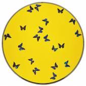 Damien Hirst_ Smashing yellow ball at peace_£100,000- £150,000
