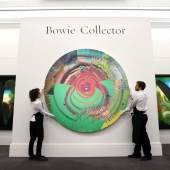 Damien Hirst with David Bowie, Beautiful, hallo, spa…0-350,000)