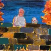 Daniel Richter (1962) Ohne Titel   2007   Öl auf Leinwand   50 x 70 cm Taxe: 7.000 – 9.000 Euro