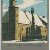 Das Rathaus der Stadt Leoben, © Sammlung Kubinzky